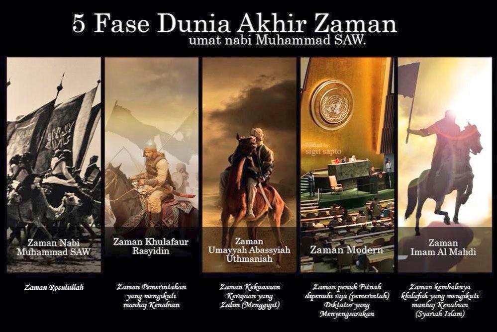Image result for Lima Fasa di Akhir Zaman
