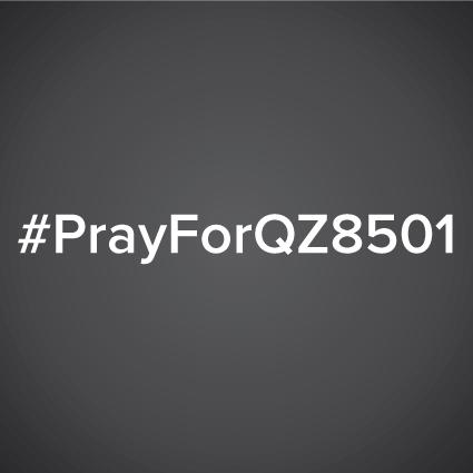 Let's pray for the safety of those on board AirAsia flight QZ8501, and strength for their loved ones. #PrayForQZ8501 http://t.co/jchyZlugso