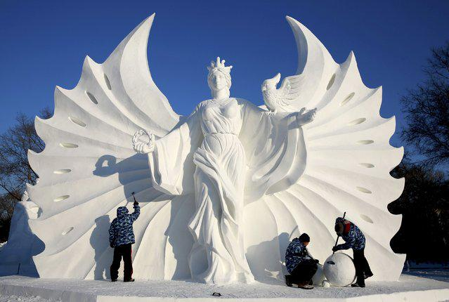 The 16th Harbin Ice and Snow World , China.  #snow #art #China http://t.co/QCwczt2ggh
