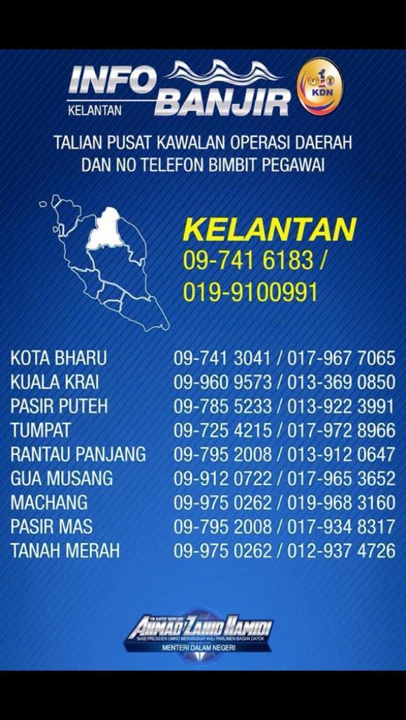Talian Info Banjir Kelantan