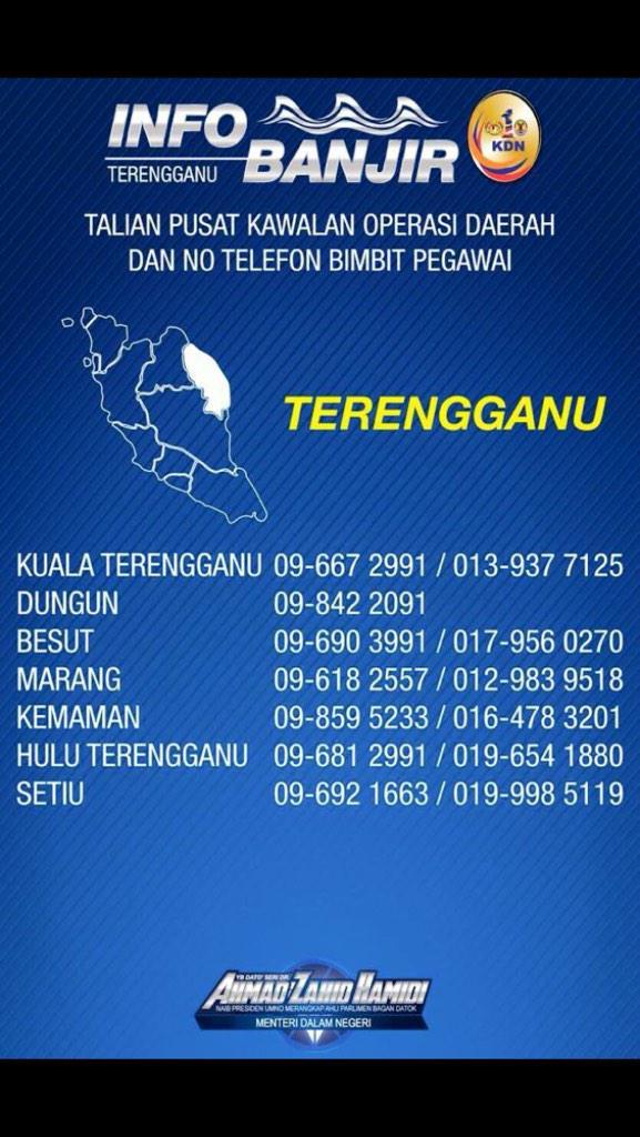 Talian Info Banjir Terengganu