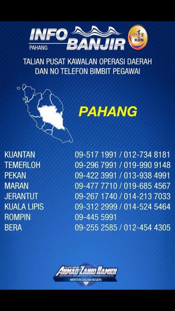 Talian Info Banjir Pahang