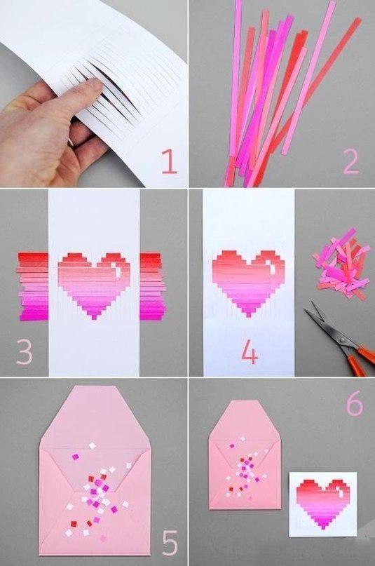 Как самой сделать открытку маме на день рождения