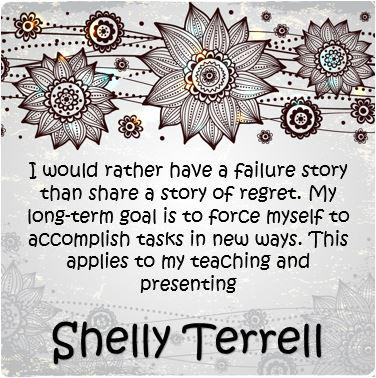 Inspiring words by @ShellTerrell. #edchat #edtalk http://t.co/b3k7T7KZgp