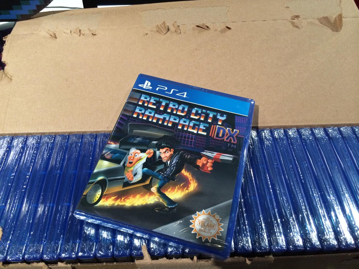 LAST DAY! WIN the rarest PS4 retail game, Retro City Rampage DX, signed! Follow/RT! INFO: http://t.co/9gfGZEq1Ze http://t.co/qCVlW7Tncr