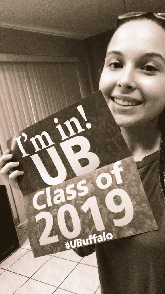 #UBuffalo class of 2019!! 🎉💃 http://t.co/HdbmmuIdDj