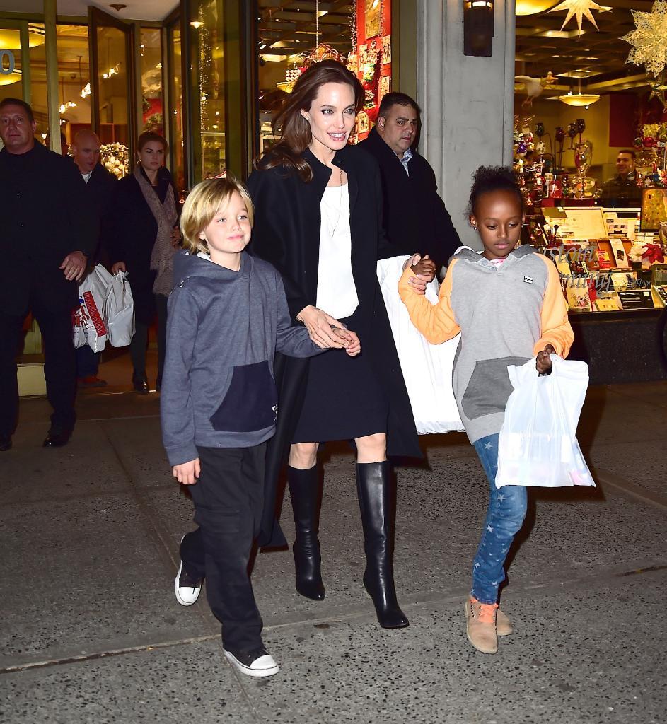 Zahara Shiloh Jolie Pitt