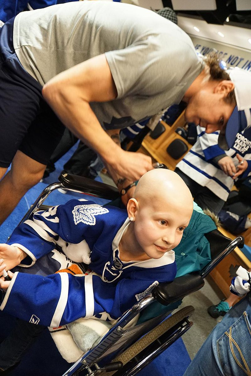 Toronto maple leafs on twitter the leafs hosted guests from toronto maple leafs on twitter the leafs hosted guests from childrenswishon at tonights game and had a meet and greet inside the dressing room m4hsunfo