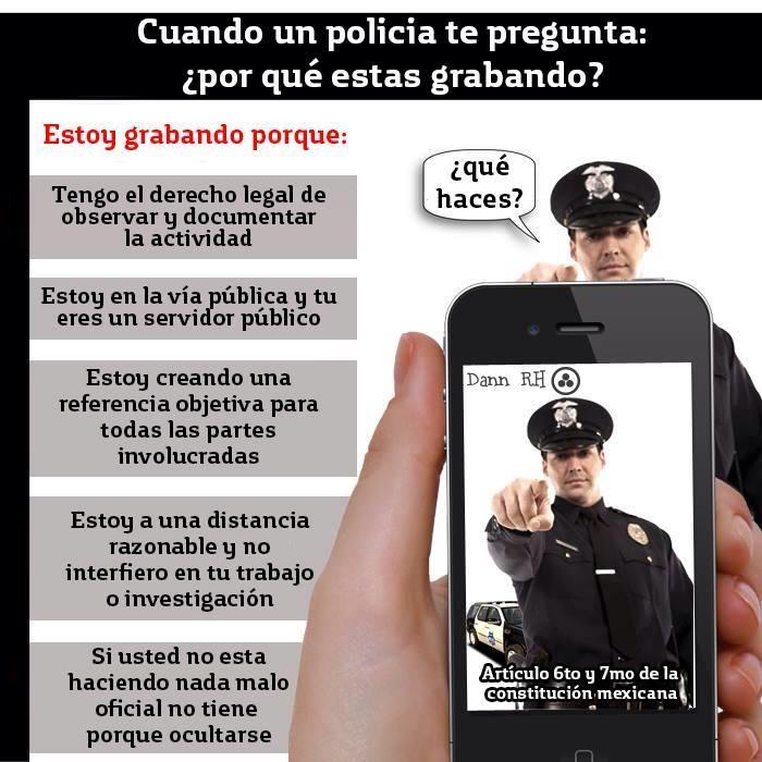 Puedes grabar actuar de la Policía? #Puebla http://t.co/5sDkccbNHR