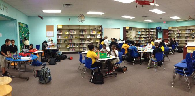 A4: Our library makeover, funding through a LowesToolbox4Education grant http://t.co/RrcowpdmoS #txlchat http://t.co/7QivsSzg2M