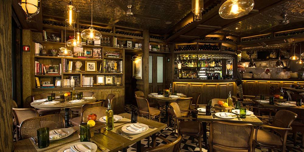 El barb n aguayo on twitter otro restaurante italiano en - Decoracion de pub ...