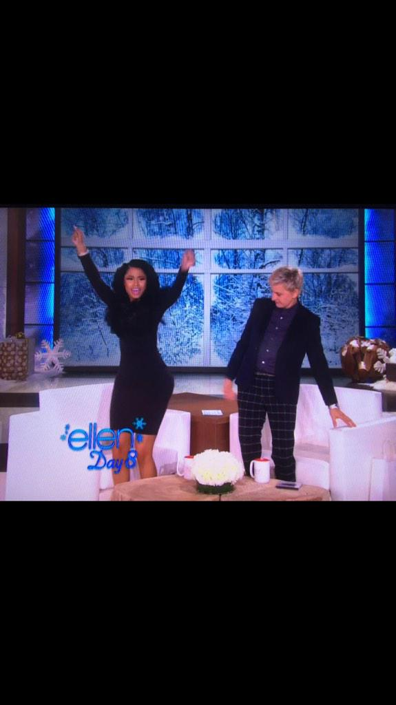 Ellen a real nigga for life #salute http://t.co/4DkrLI6Axn