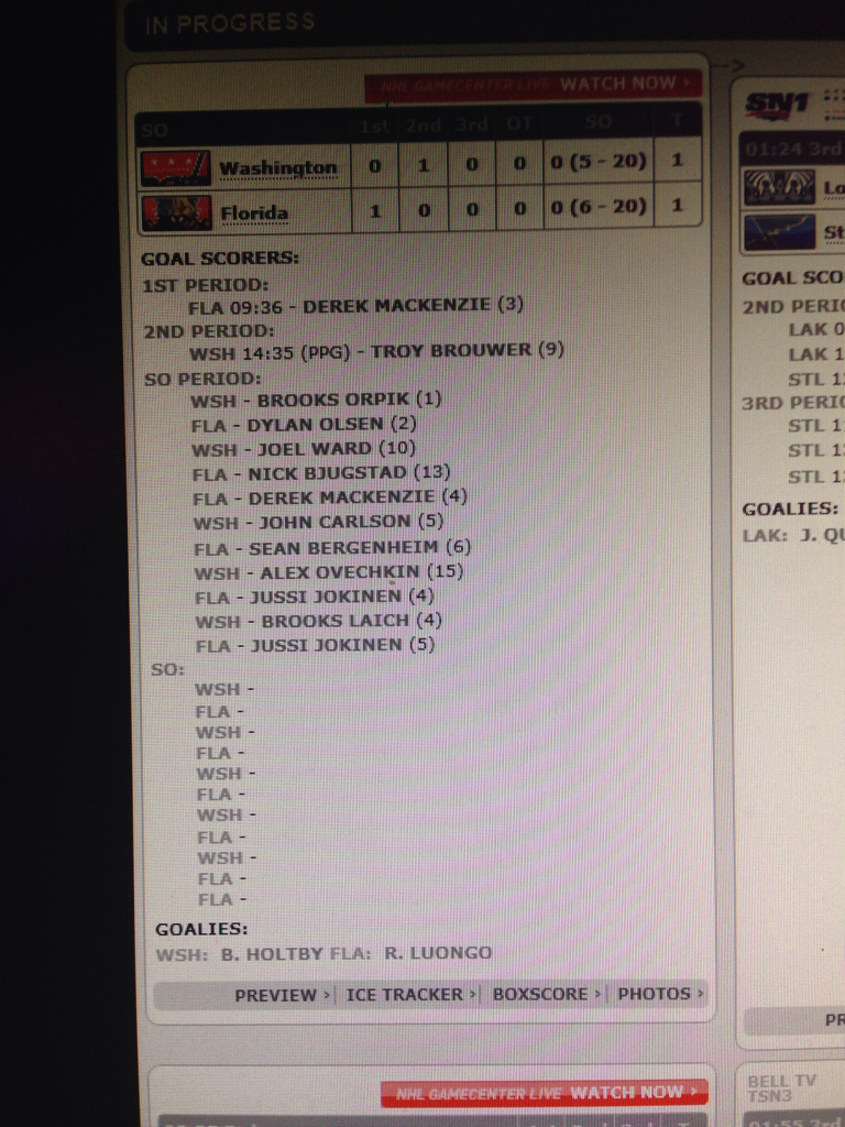20 round shootout!?! This boxscore is longer than a CVS receipt. #AmericanHumour http://t.co/vMeRjD6FrL