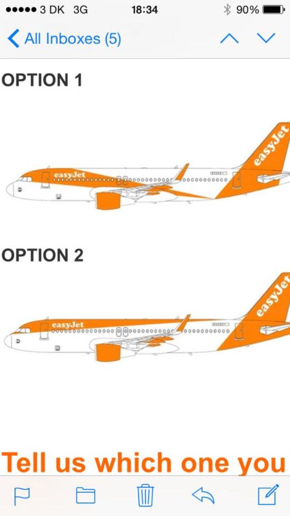 New Easyjet Livery Revealed In Full Airliners Net