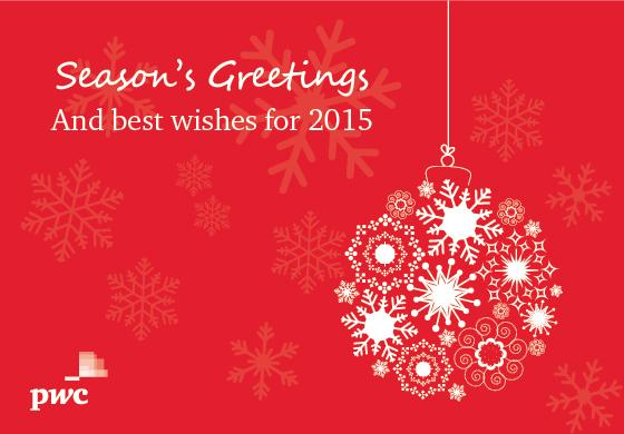 Pwc middle east on twitter seasons greetings and best wishes for 627 am 17 dec 2014 m4hsunfo