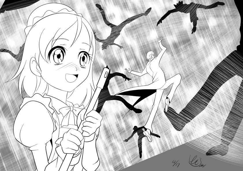 トモナム01〈蝶々の妖精〉 (@Tomorrow01)さんのイラスト