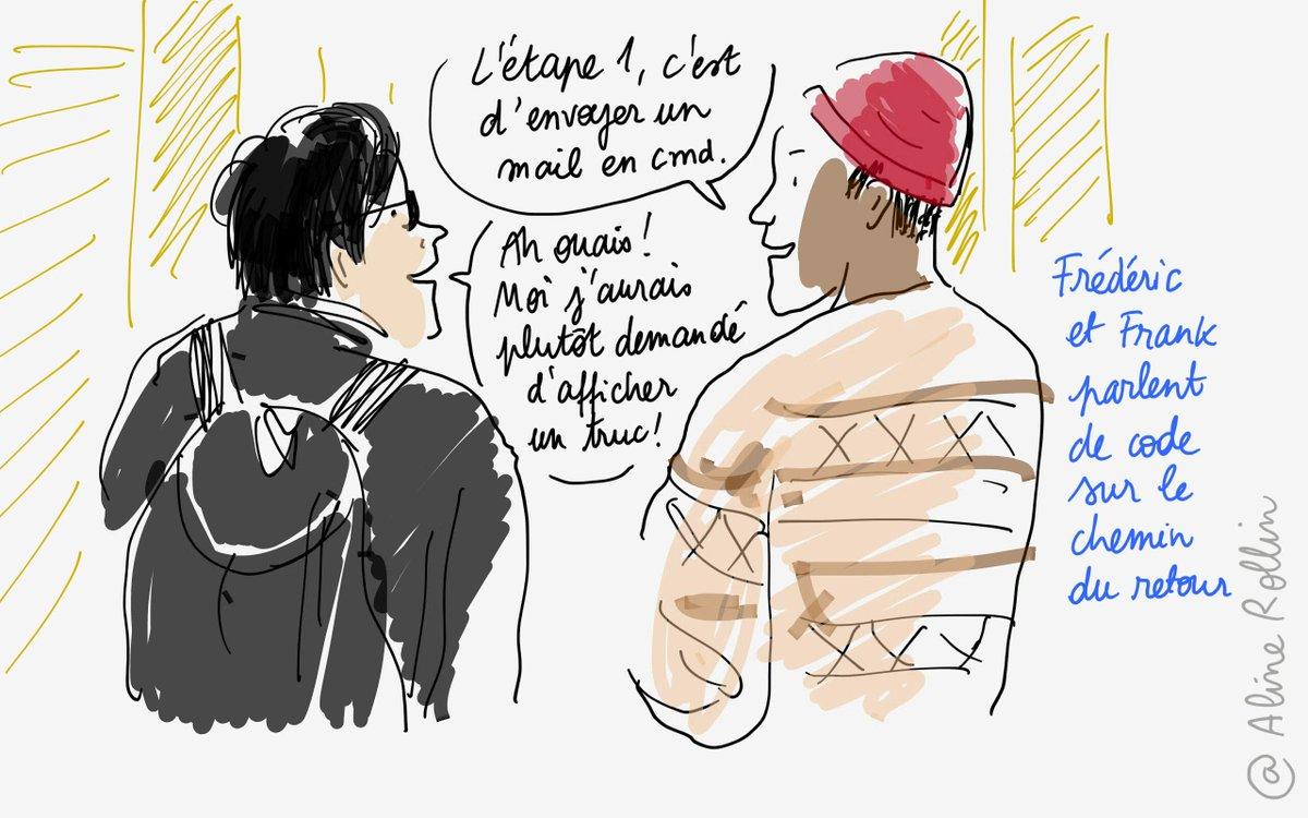 Du #musee au #numerique... discussion sur le #code dans les couloirs du @MuseeLouvre. #tousaloeuvre http://t.co/8WH8dHVDZD