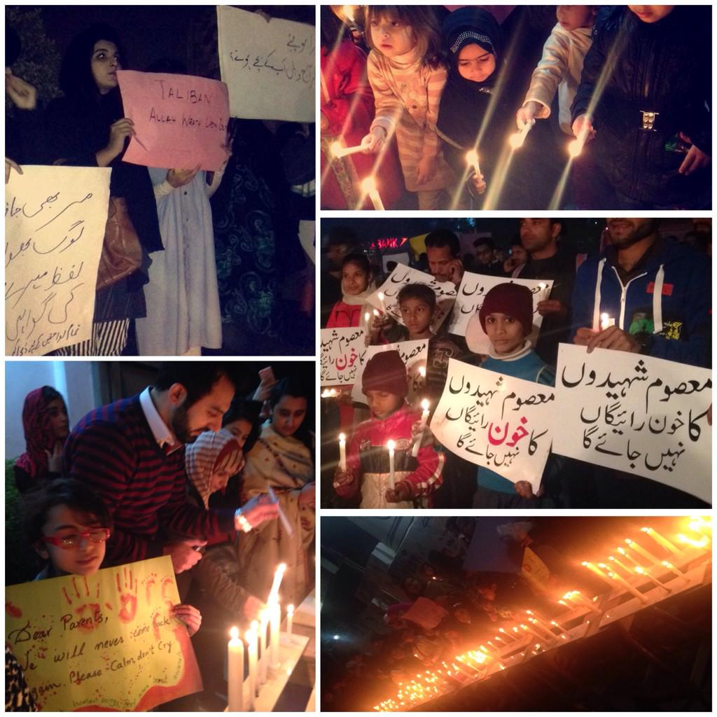 Attending vigils is all I can do to alleviate even a fraction of the helplessness and despair I feel. #PeshawarAttack http://t.co/4JNl3628XZ