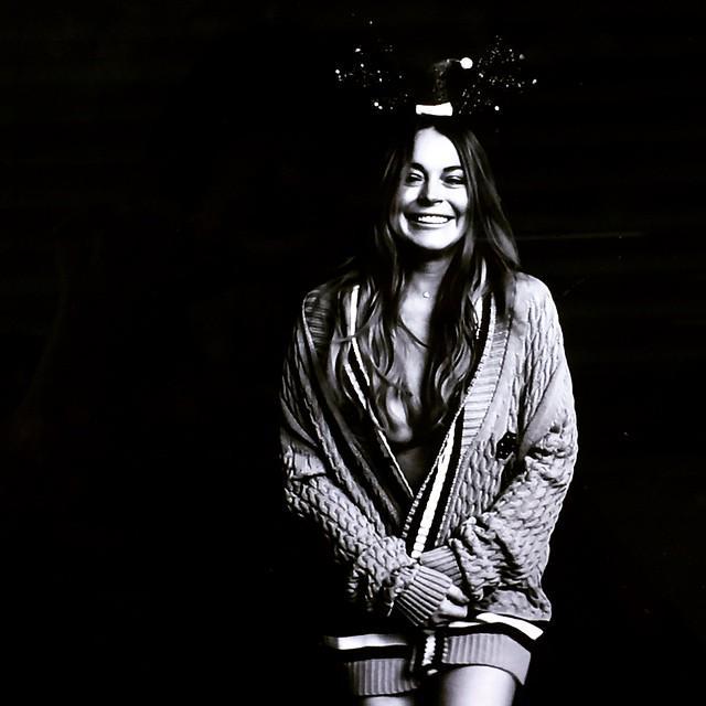Lindsay Lohan nua na Love Magazine