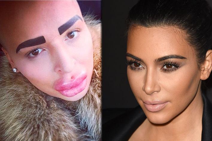 Kim Kardashian versão masculina