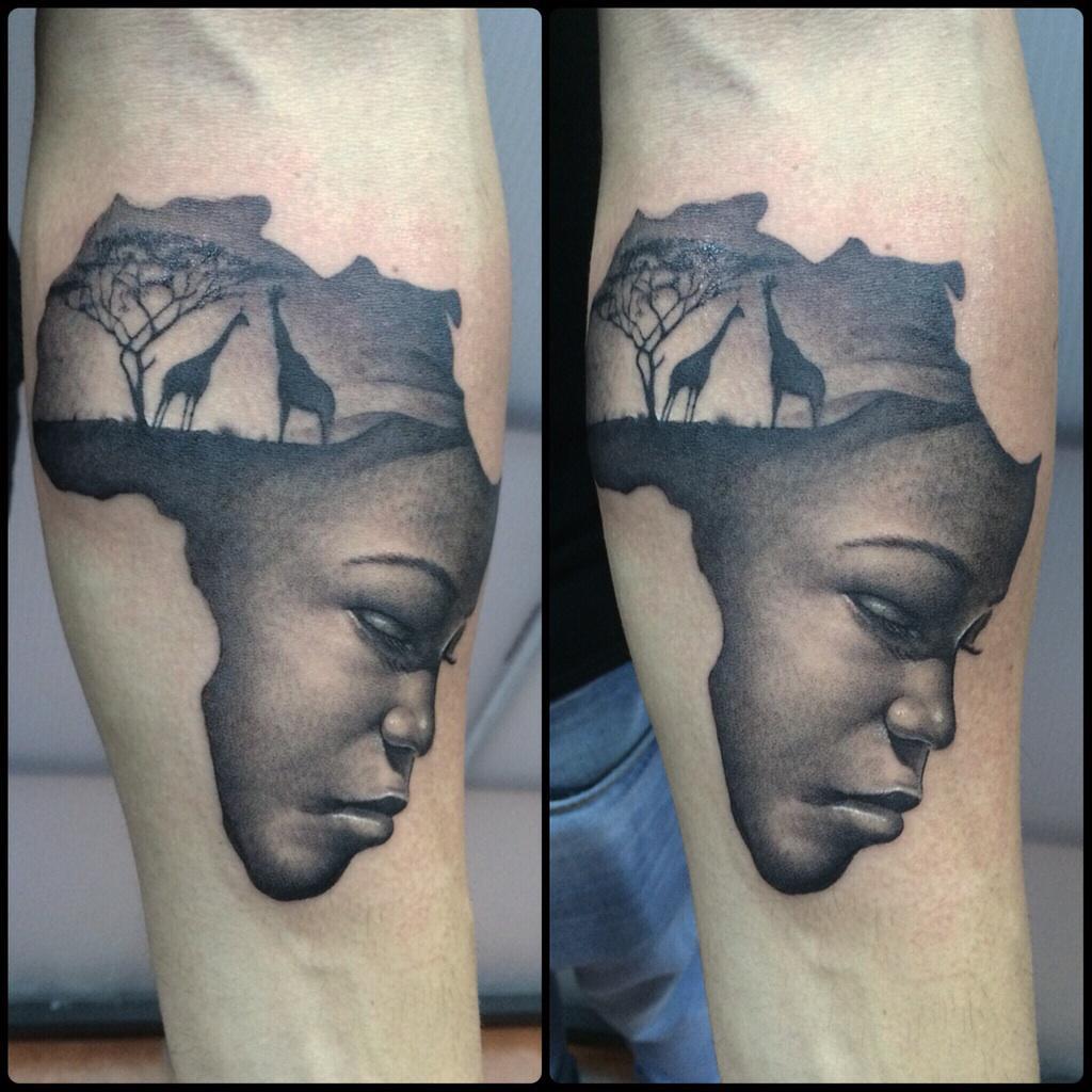 "Pol Tattoo ジプシー On Twitter: ""Mama África"