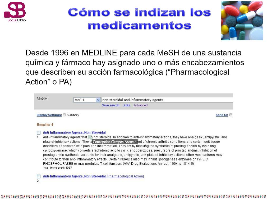 Thumbnail for Pubmed avanzado - por Concha Campos en SocialBiblio