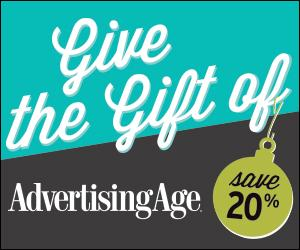Now you can give the gift of Ad Age for 20% off! http://t.co/5htasrsUvM http://t.co/WLqkX4yH7V
