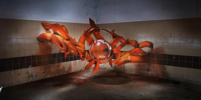 Amazing 3D Graffiti Looks Like It's Floating In Midair http://t.co/LixxNmLCR8 http://t.co/DwtgulJD30