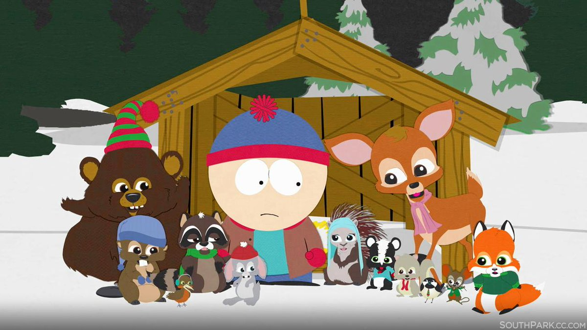 South Park Woodland Critter Christmas.South Park On Twitter This Is South Park S First Holiday