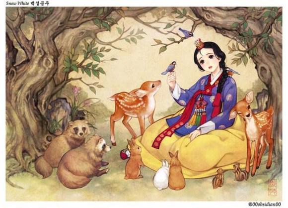 South Korean illustrator gives western fairytales a refreshing oriental makeover http://t.co/ydT4z4D8G3 http://t.co/Xrq8Er2Rk4