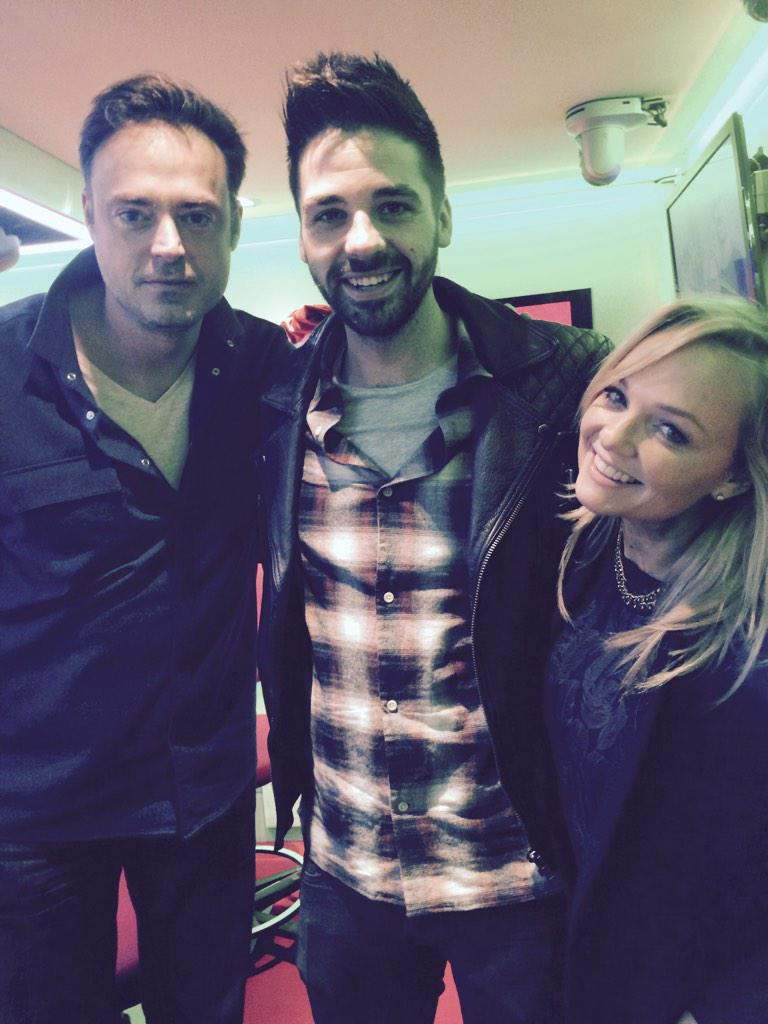 RT @Bhaenow: Great to see @EmmaBunton and @JamieTheakston on @thisisheart xx have a good Christmas and see you soon http://t.co/iHdOn36wm7