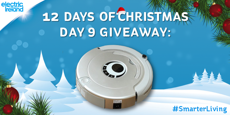 Win a sophisticated robotic hoover for your home in today's Christmas giveaway! Follow & RT to enter! #SmarterLiving http://t.co/PldvLriJjM