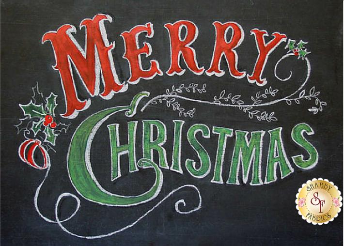 Merry Christmas from Shabby Fabrics
