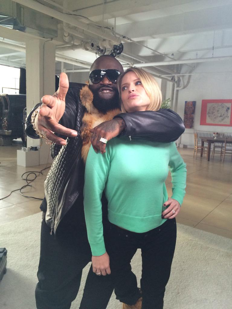 Thank you @rickyrozay for my amazing new Christmas Card...I'll stand by for the rap:) #shoutouttoallthepear @GMA http://t.co/FnlBUQFxho