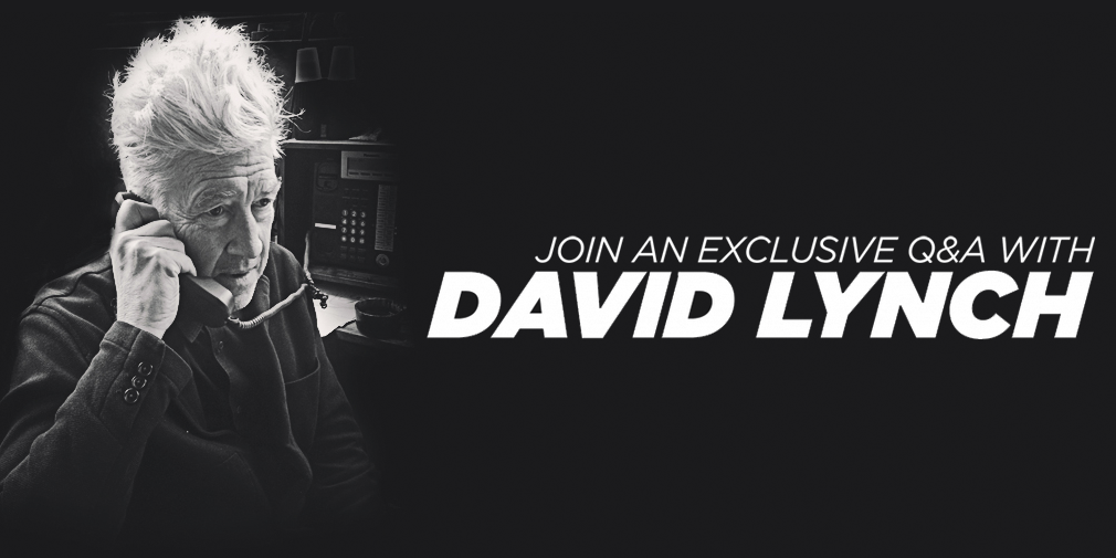 Join a live Q&A with @DAVID_LYNCH and support @LynchFoundation. Details here: http://t.co/ATLC1MfiHJ http://t.co/e6IXm3btBq