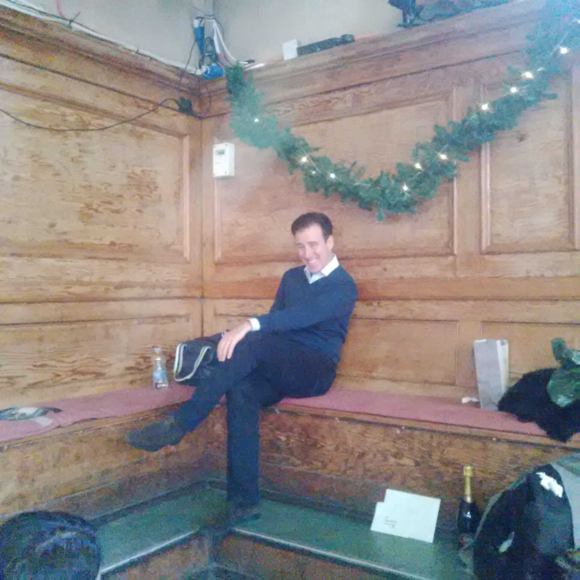 """RT @judmoo: Strictly rehearsals.....and look who's been sent to sit in the corner for being """"beyond hilarious"""". @TheAntonDuBeke. http://t.c…"""