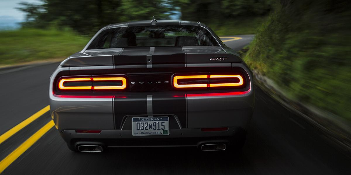 You may have seen these taillights on the road by now — the 2015 Challenger SRT 392: http://t.co/yOAsRTRGpg. http://t.co/2cH198wi8i