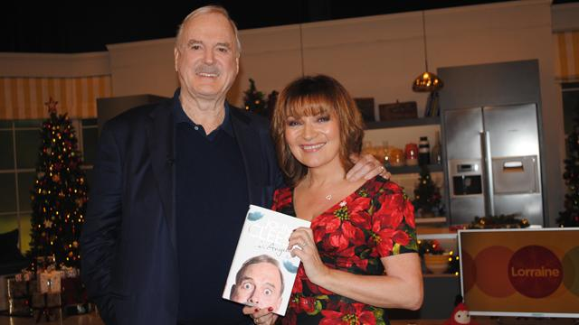 RT @ITVLorraine: Thanks to @JohnCleese for dropping by for a chat with @reallorraine today! Watch: http://t.co/Hqkh9kc8vN http://t.co/9xzYv…