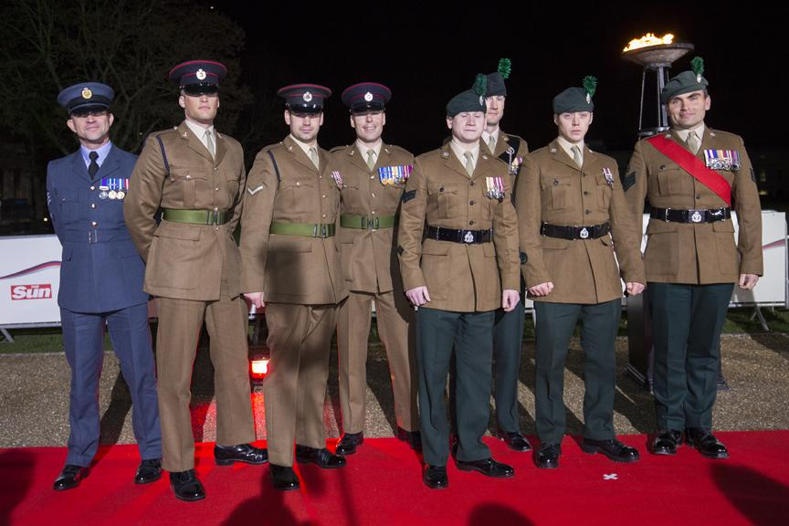RT @BritishArmy: Watch on TV: @TheSunNewspaper Military Awards ceremony televised tonight at 8.30pm on ITV1 #Millies http://t.co/bJv7LKHhfG