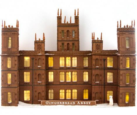 .@marthastewart & team build #gingerbreadabbey for the Season 5 premiere of #DowntonPBS @pbs http://t.co/wqaouxIwx2 http://t.co/4UN68oDosb