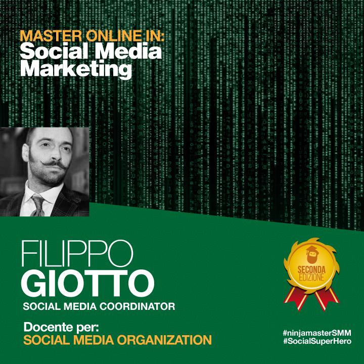 RT @FilippoG8: Appuntamento al Master in #SMM per parlare anche di Social Organization http://t.co/SgKgGfkI4j #NinjaMasterSMM http://t.co/l…