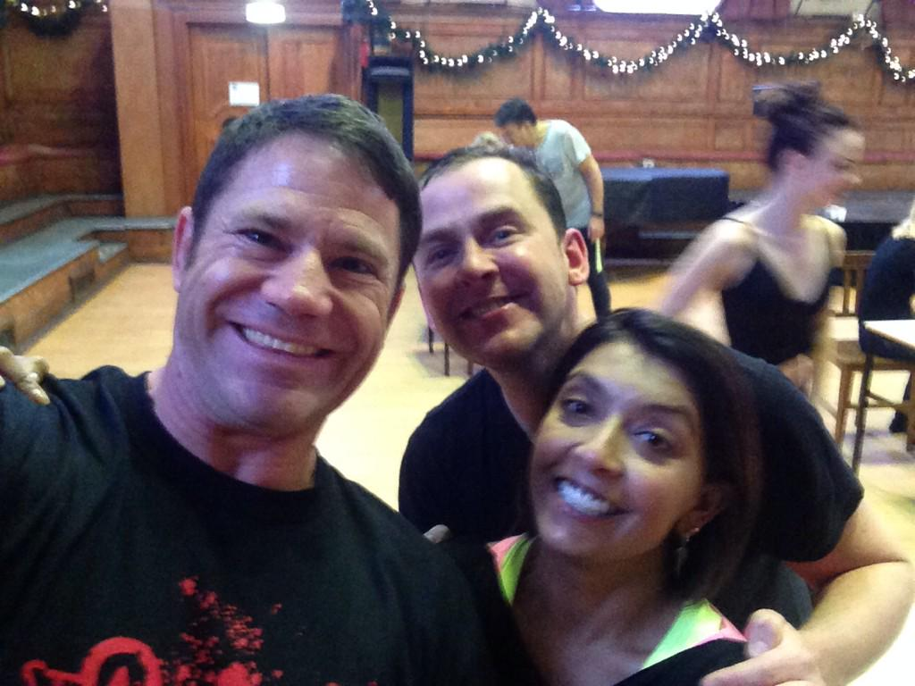 RT @SteveBackshall: Classic photobomb @scott_mills as @sarker & I perform the finest waltz Strictly has ever seen. It's official. Ever. htt…