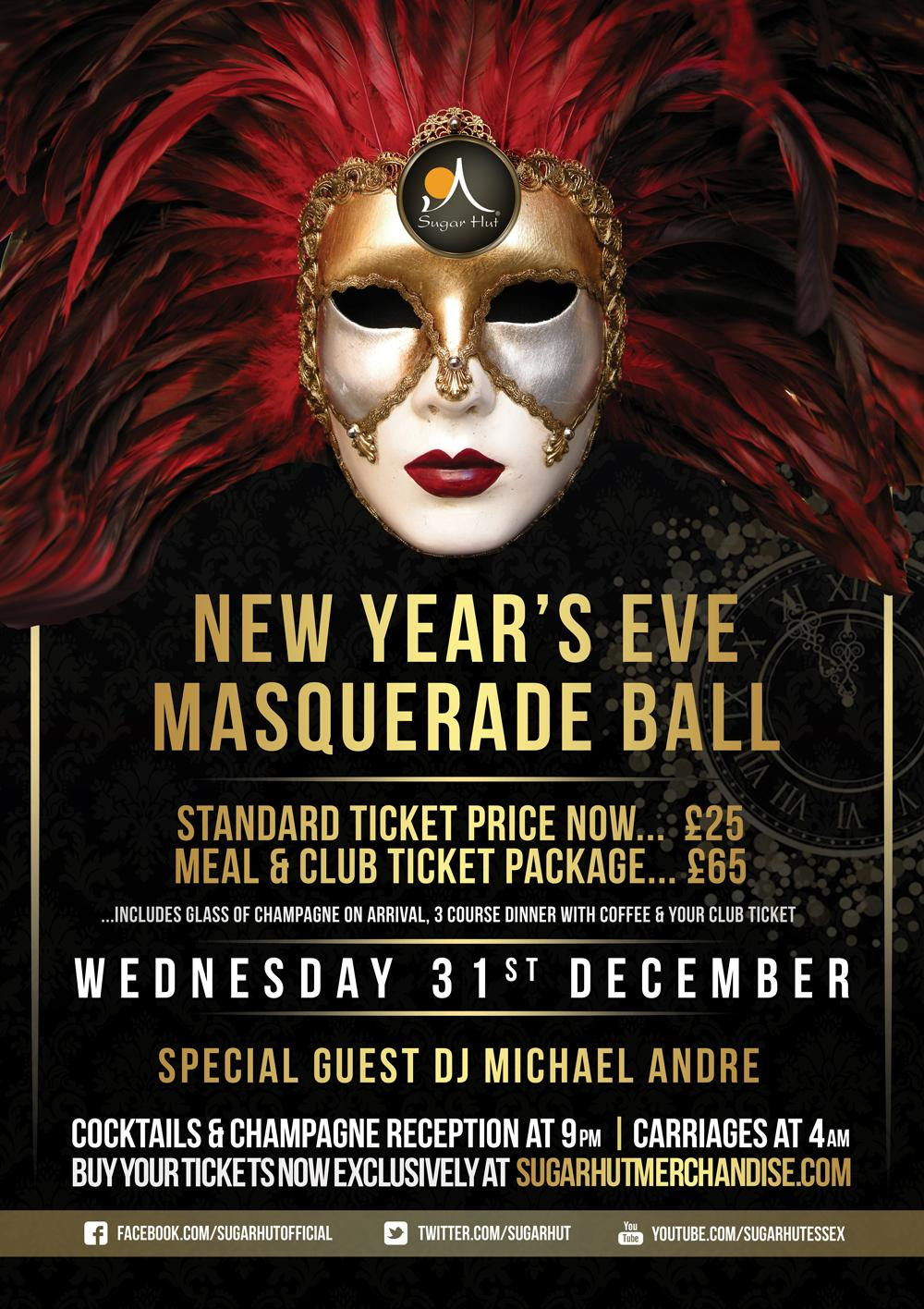 Our NYE Tickets are on Sale for £25 Call us on 01277 200885 to get yours. With @mrmichaelandre playing our main room. http://t.co/qLDZTJmUkh