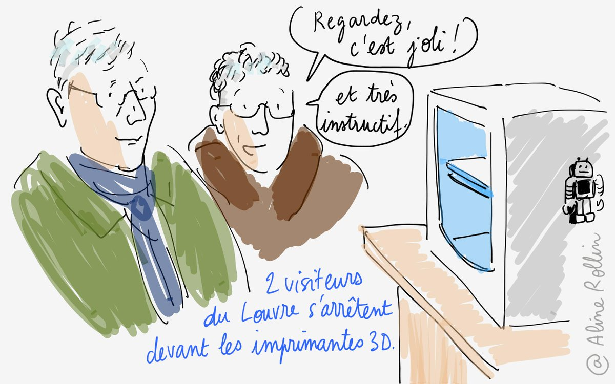 """Regardez, c'est joli !"" #3dprinting #partage @MuseeLouvre #tousaloeuvre @MinistereCC http://t.co/Ow7b2ZzoVX"