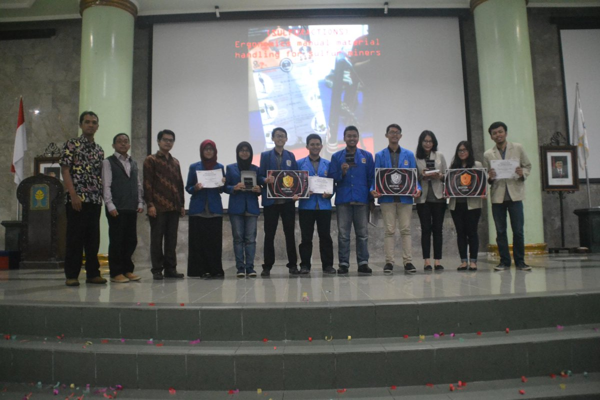 Prestasi Mahasiswa Prodi Teknik Industri di INCEPTION 2014