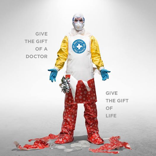 Give the #GiftOfLife this holiday season. Donate to fight Ebola & help @_MdMUSA save lives. http://t.co/lOO6aLAzdc http://t.co/cSqF4bLqsk