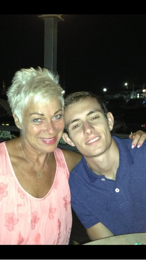#ThrowbackThursday Me and my stepson @Lewis_Townley where he lives in Spain xx #wemissourboys http://t.co/hfcs74Hmaa