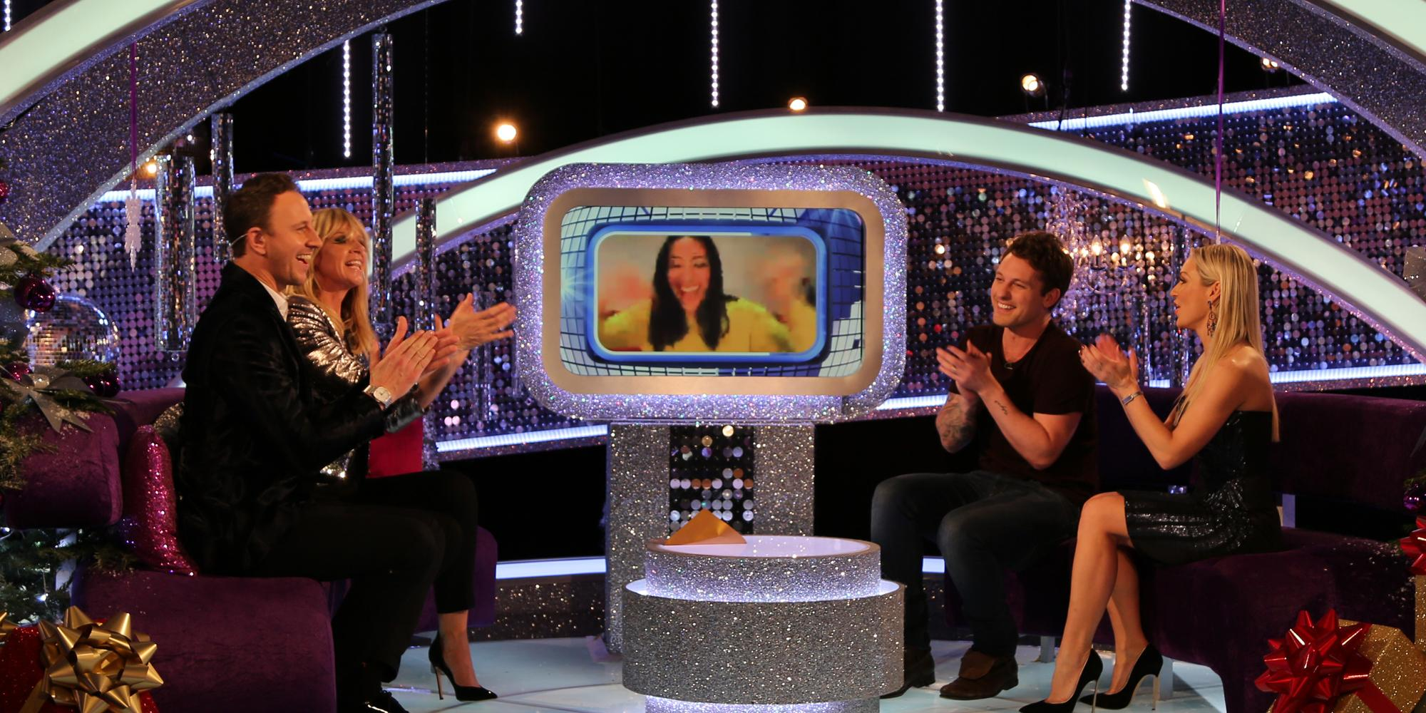 The moment @karen_hauer found out she was a @GWR holder! Congrats to her & @AljazSkorjanec #ITT http://t.co/9sKbdkQHch