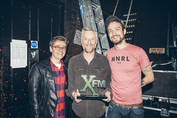 RT @billybragg: Thanks to @johnkennedy_xfm and @frankturner for presenting me with the Inspiration Award at @Xfm Winter Wonderland http://t…