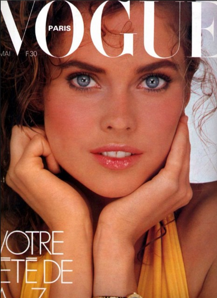 This is one of my favorite cover shots  #albertwatson for @vogueparis #throwbackthursday #tbt http://t.co/42qz5AQJBj